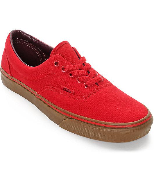 tenis rojos vans