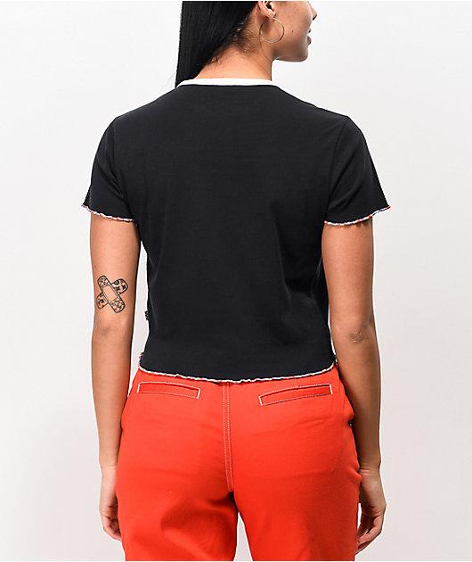 Vans Evertide Black Crop T-Shirt