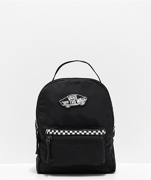 Vans Expedition 2 Black & Microcheckerboard Mini Backpack