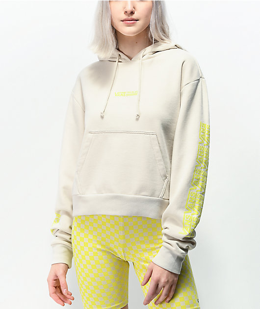 Vans Fair Well Rainy Day Crop Hoodie