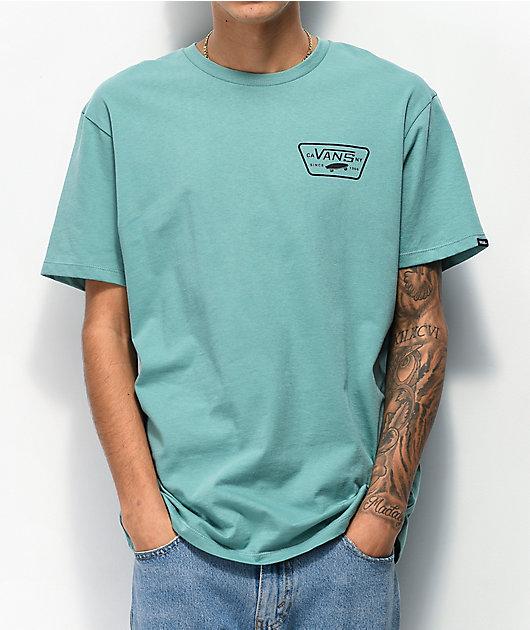 Vans Full Patch Oil Blue T-Shirt
