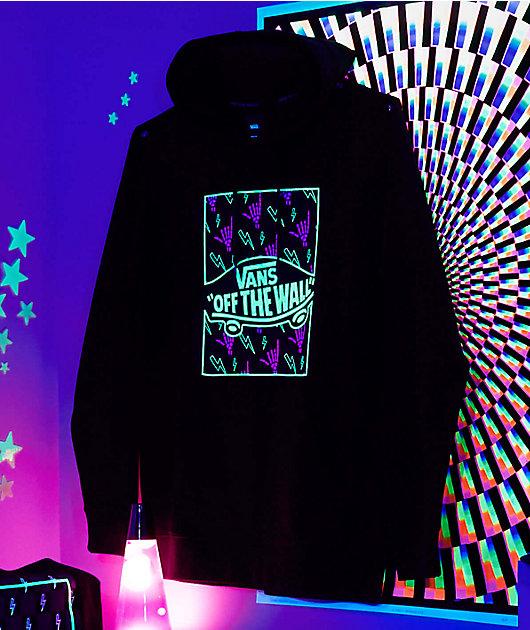 Vans Glow In The Dark Black Hoodie