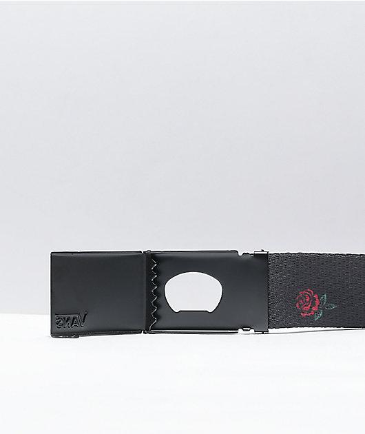 Vans Gnarator Barbed Rose Black Web Belt