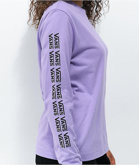 Vans Group Chat Lavender Long Sleeve T-Shirt