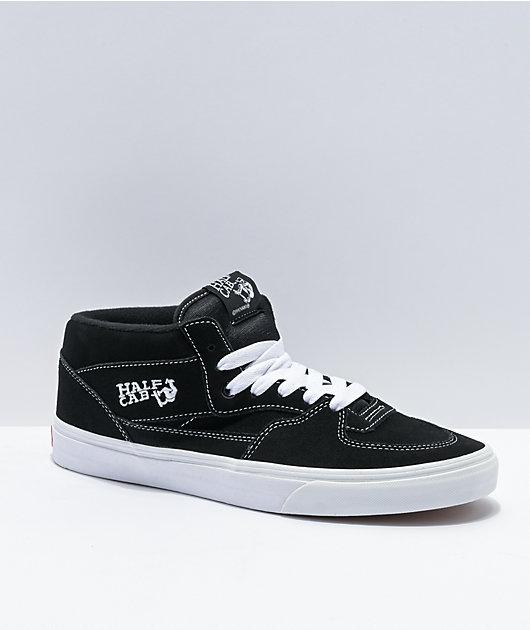 Vans Half Cab zapatos de skate blancos y negros