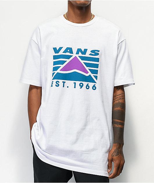 Vans Hi Point camiseta blanca