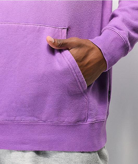 Vans Hi-Point sudadera con capucha teñida morada y blanca