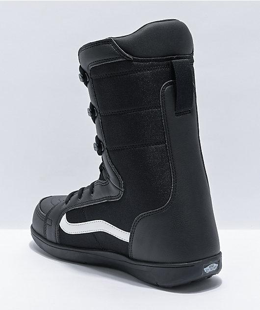 Vans Hi-Standard Black Linerless Snowboard Boots 2021
