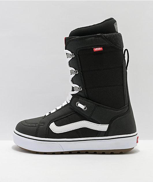 Vans Hi-Standard OG Black Snowboard Boots 2021
