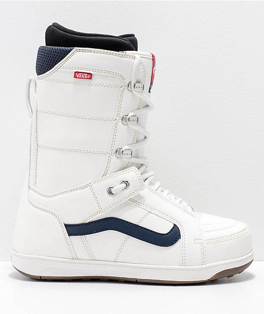 Vans Hi-Standard White Snowboard Boots