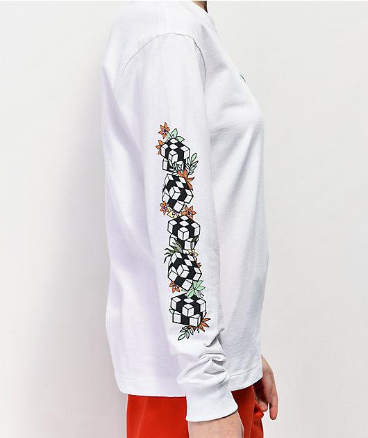 Vans Jefferspin camiseta blanca de manga larga