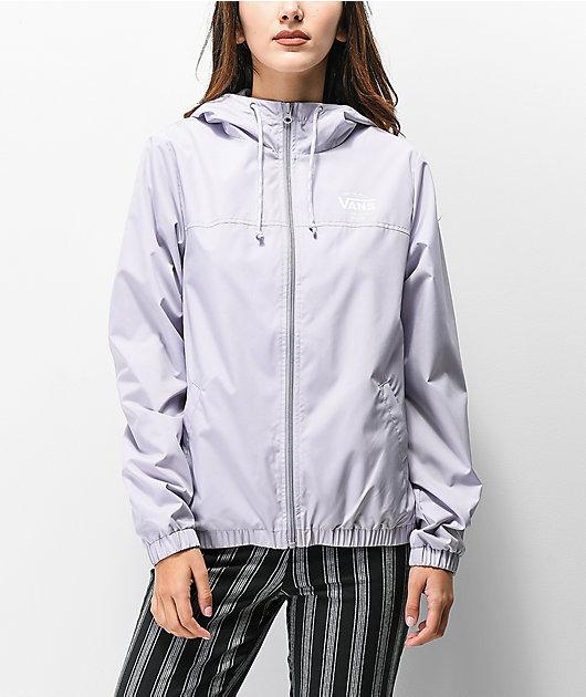 Vans Kastle Evening Haze Lilac Windbreaker Jacket