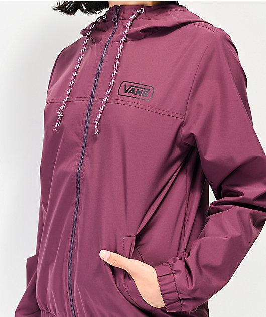 Vans Kastle III Prune Windbreaker Jacket