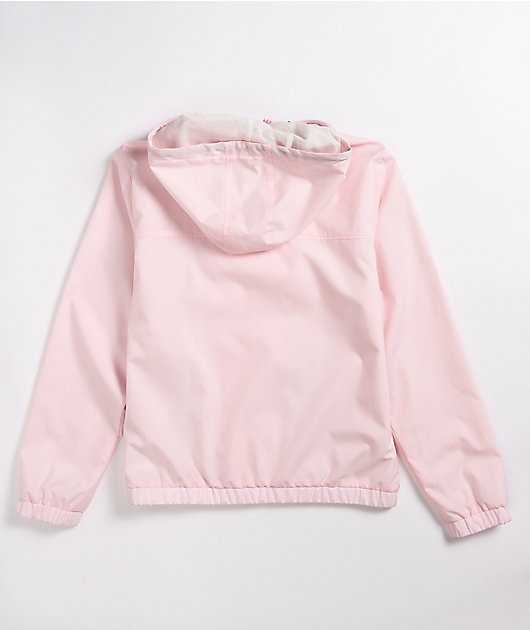 Vans Kastle Light Pink Windbreaker Jacket