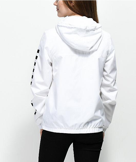 Vans Kastle MTE White Checker Windbreaker Jacket