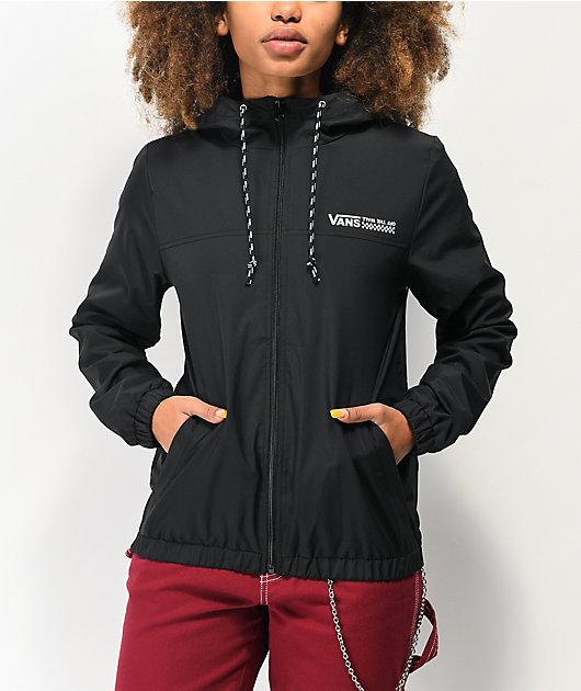 Vans Kastle Turvey Black Windbreaker Jacket