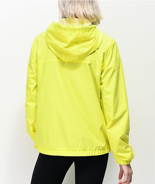 Vans Kastle Turvey Neon Yellow Windbreaker Jacket