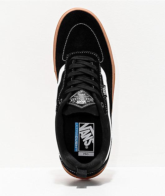 Vans Kyle Walker Pro Black, White & Gum Skate Shoes