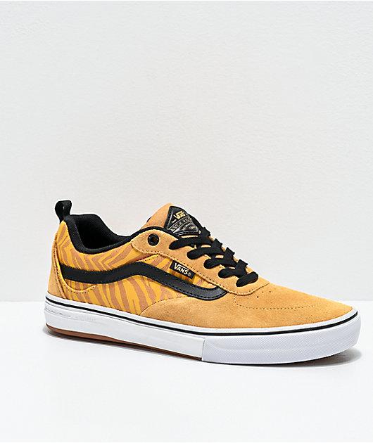 Vans Kyle Walker Pro Reflective Tiger Stripe & Black Skate Shoes