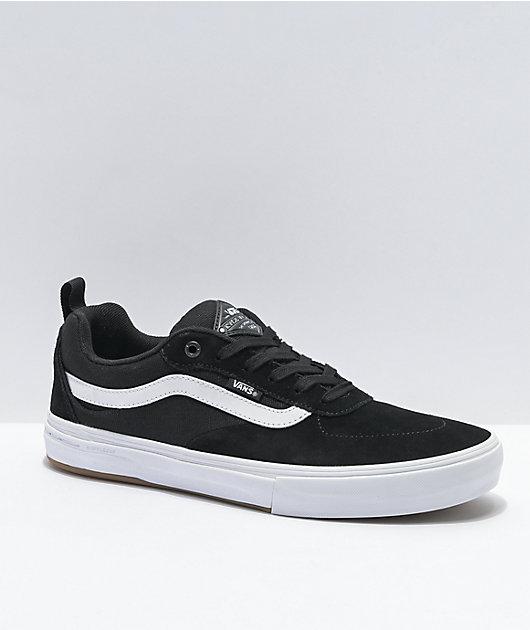 Vans Kyle Walker Pro zapatos de skate blancos y negros