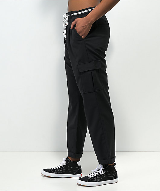 Vans Leg Up Black Cargo Pants