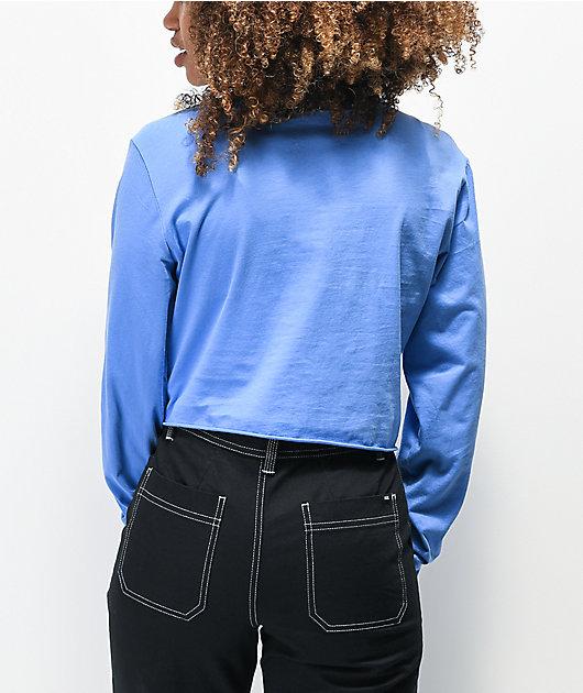 Vans Logo Graphic camiseta corta azul de manga larga