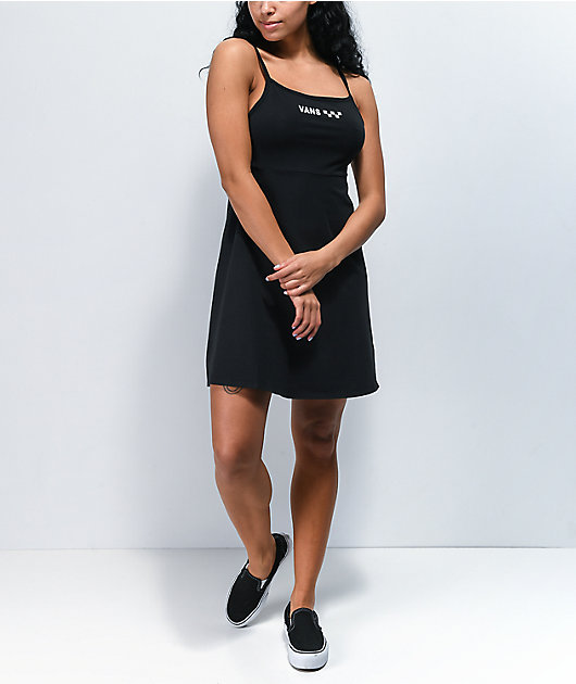 Vans Meadowlark Black Tank Dress