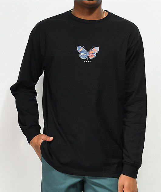 Vans Metamorphosis Black Long Sleeve T-Shirt