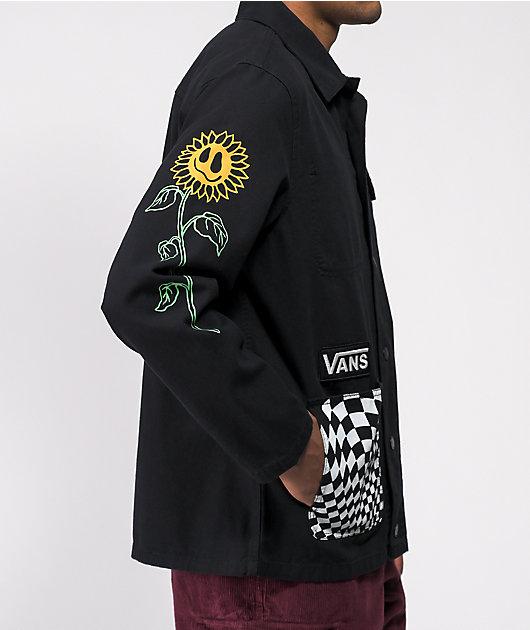 Vans Micro Dazed Drill Black Chore Jacket