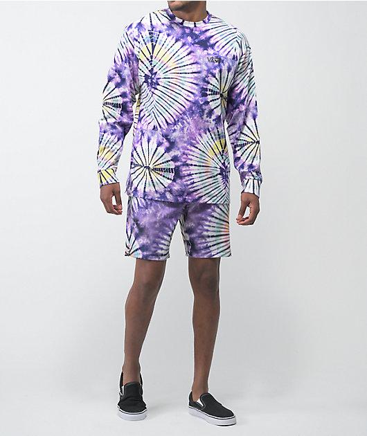 Vans New Age Purple Tie Dye Board Shorts
