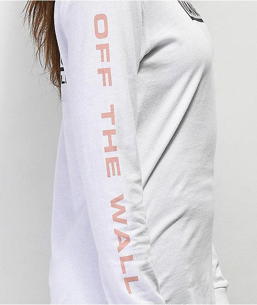 Vans New Flag White Long Sleeve T-Shirt