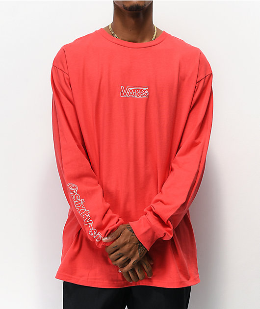 Vans OTW Framework Hibiscus Long Sleeve T-Shirt