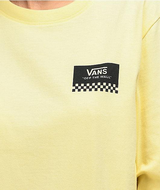 Vans Off The Roses Cream Long Sleeve T-Shirt