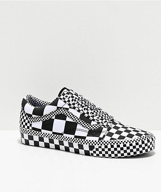 mens checkerboard vans old skool