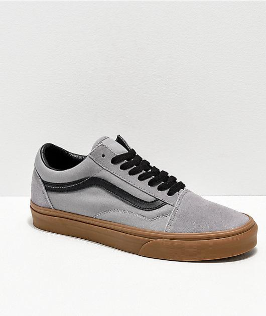 Vans Old Skool Alloy Grey, Black \u0026 Gum