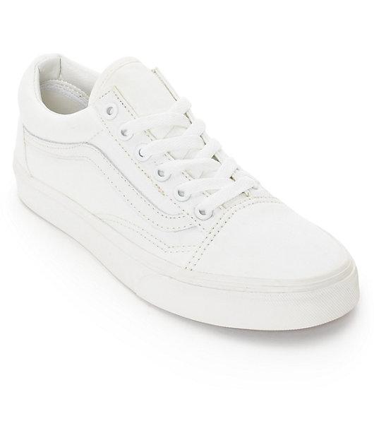 Vans Old Skool Blanc De Blanc Shoes