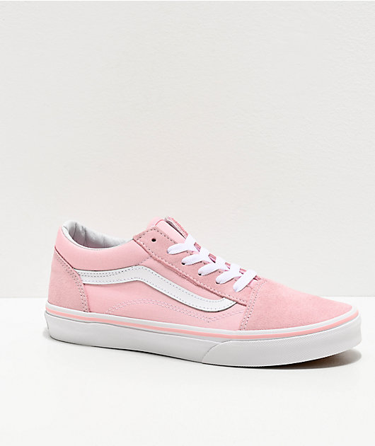 Vans Old Skool Chalk Pink Skate Shoes