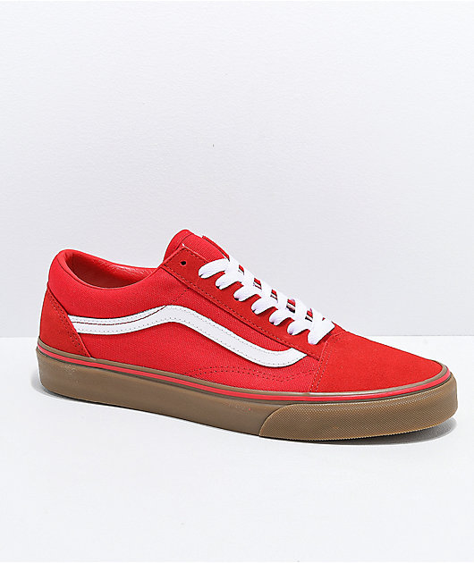 Vans Old Skool Formula Red Gum Skate