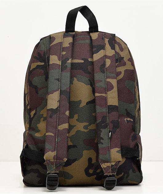 Vans Old Skool II Camo & Black Backpack