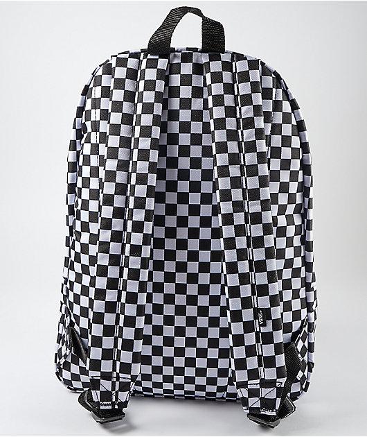 Vans Old Skool III Black & White Checkerboard Backpack