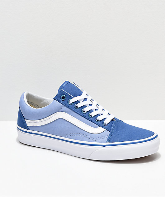 Vans Old Skool Iridescent Eyelet Blue