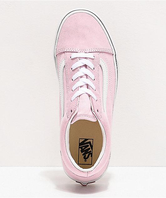 Vans Old Skool Lilac Snow & White Skate Shoes