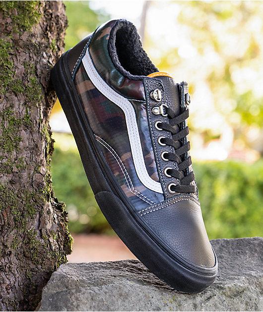 Vans Old Skool MTE Black & Camo Shoes