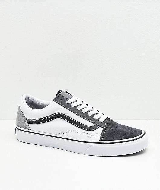 Vans Old Skool Mix & Match Black, White & Grey Skate Shoes