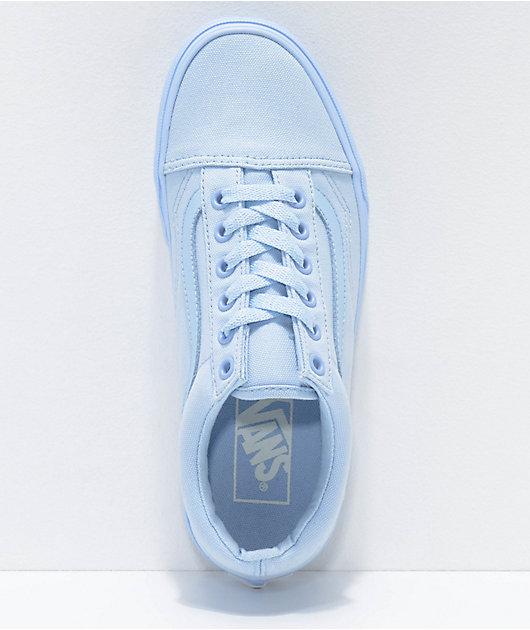 Vans Old Skool Mono Sky Blue Skate