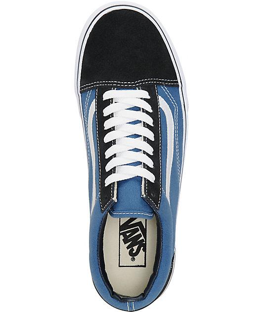 Vans Old Skool Navy Skate Shoes