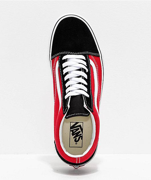 Vans Old Skool OTW Black & Red Skate Shoes