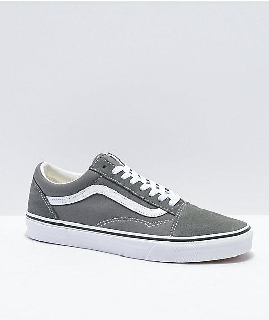 Vans Old Skool Pewter Grey \u0026 White