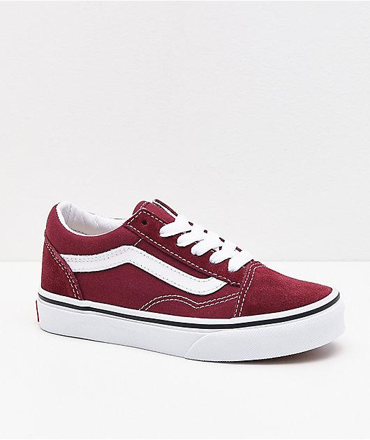 Vans Old Skool Pomegranate Skate Shoes