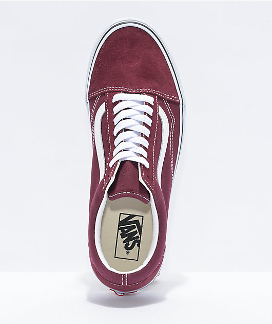 Vans Old Skool Port Royale & White Skate Shoes